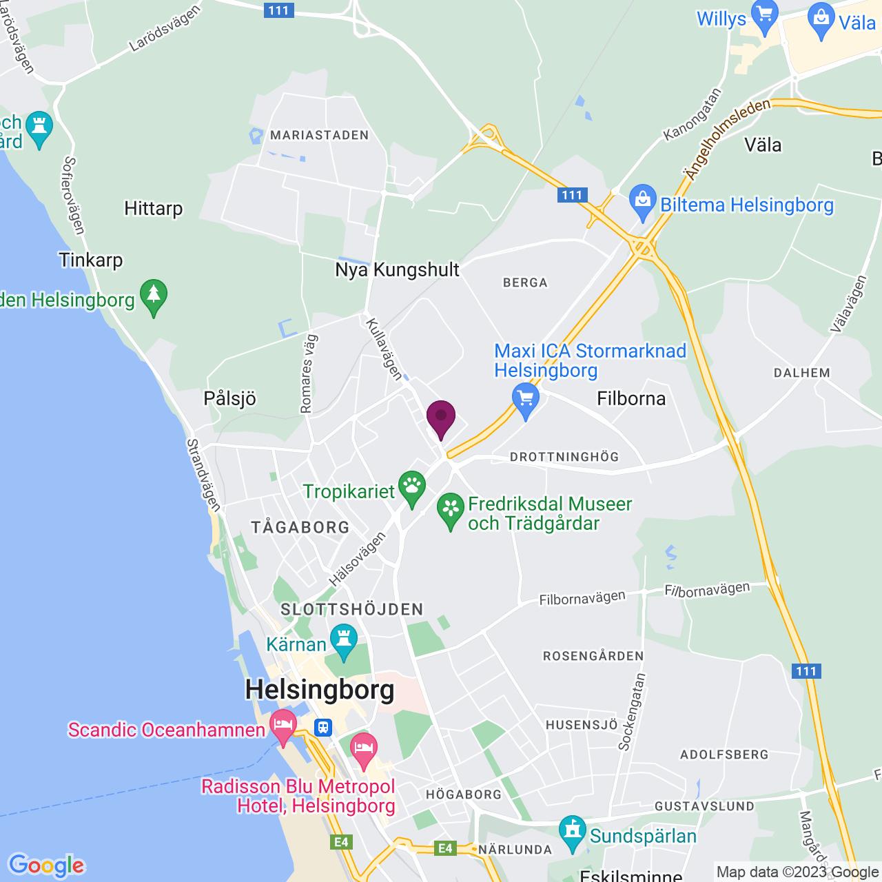 Karta över Rundgången 30 a