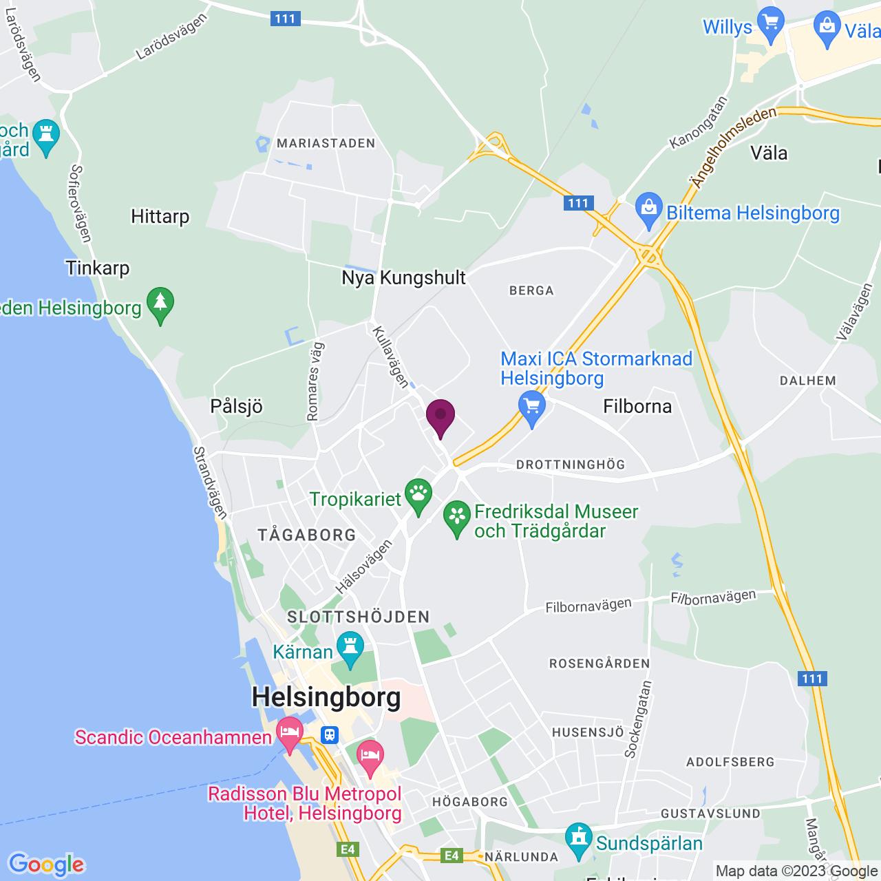 Karta över Rundgången 32