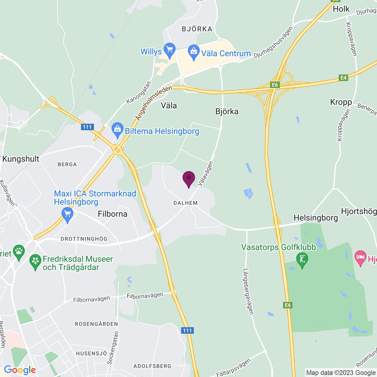Karta över Mogatan 6