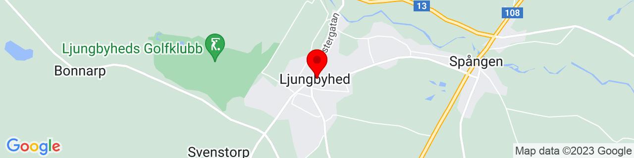 Google Map of 56.0737366, 13.233740500000067