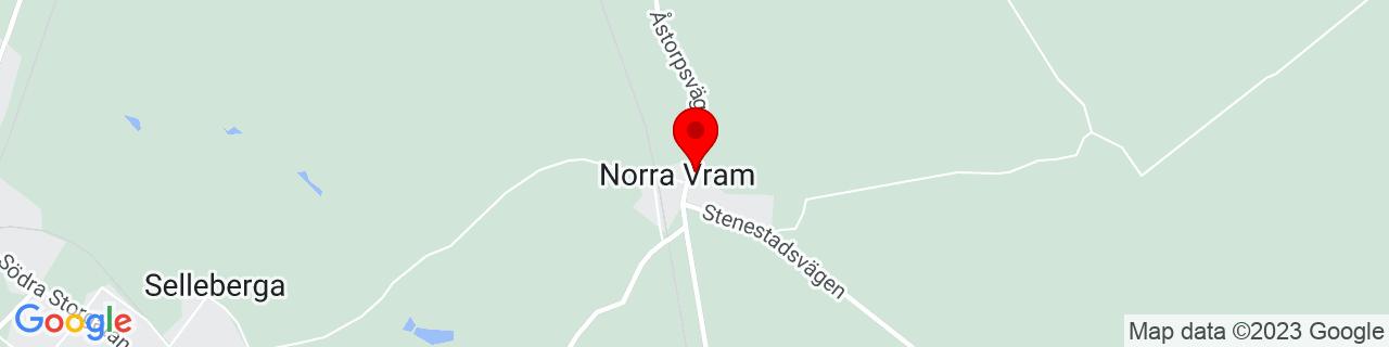 Google Map of 56.087494444444445, 12.974069444444444