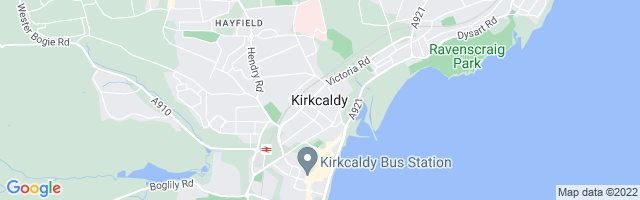 Map Of Kirkcaldy