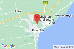 Victoria Hospital Library, Kirkcaldy on the map