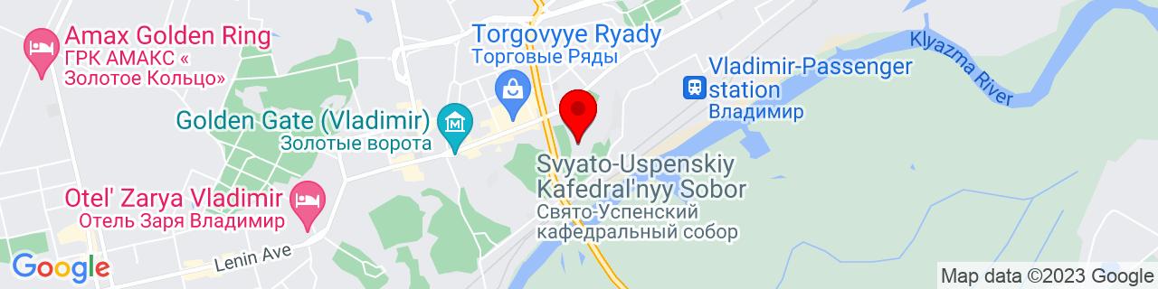 Google Map of 56.12730879999999, 40.40903819999994
