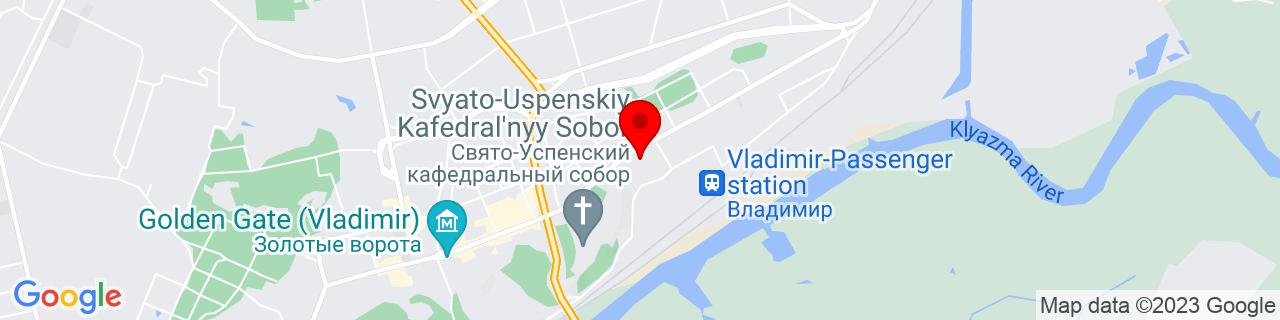 Google Map of 56.131408, 40.41391039999996