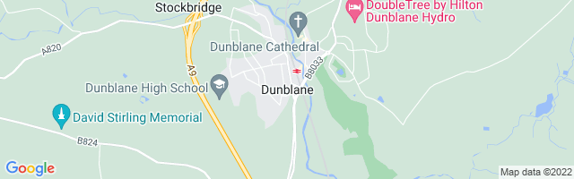 Map Of Dunblane