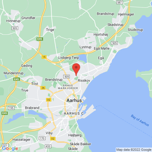 Football Festival® Denmark map