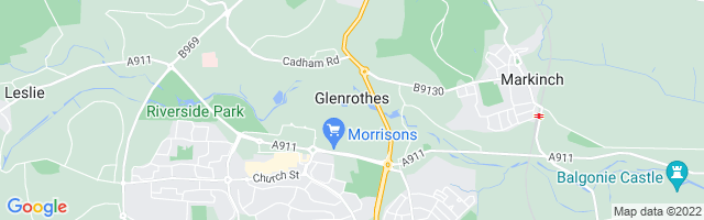 Map Of Glenrothes