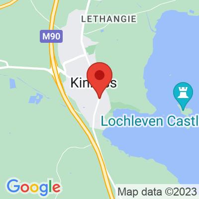 Map showing Unorthodox Roasters (Kinross)