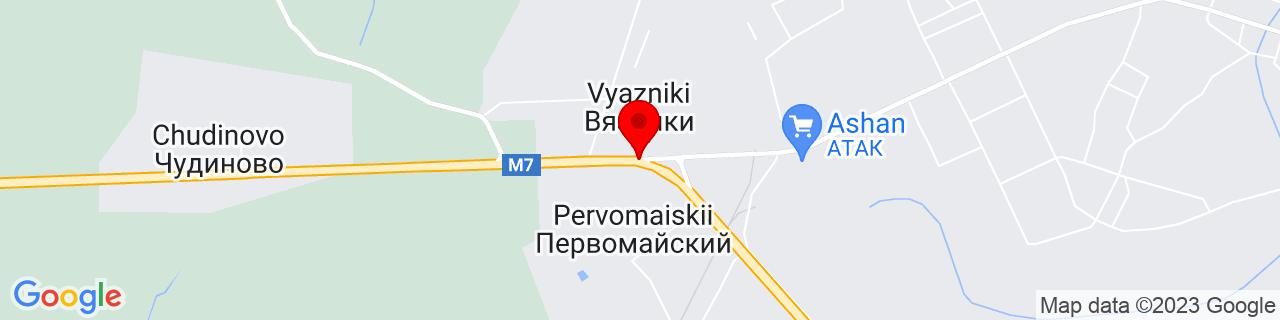 Google Map of 56.23984249999999, 42.10244239999997