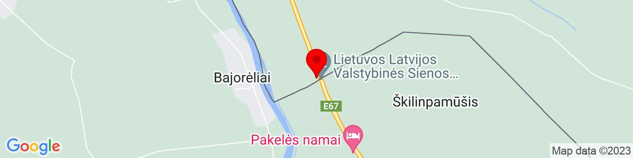 Google Map of 56.274563, 24.364716