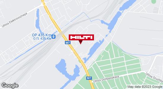 Региональный представитель Hilti в г. Нижний Новгород