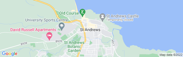 Map Of St. Andrews