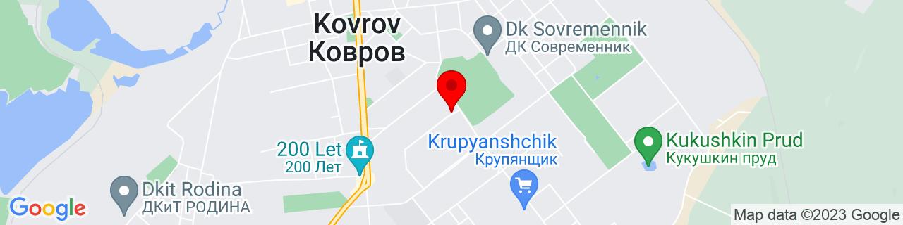 Google Map of 56.356769, 41.32263109999997