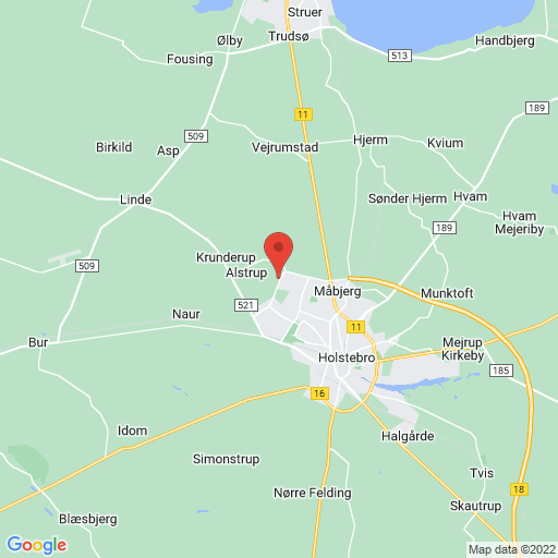 DFC - Danish Football Challenge - Holstebro map