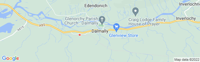 Map Of Dalmally
