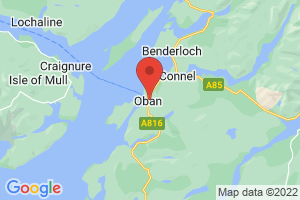 Map of Oban