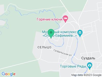 Карта ГТК Суздаль