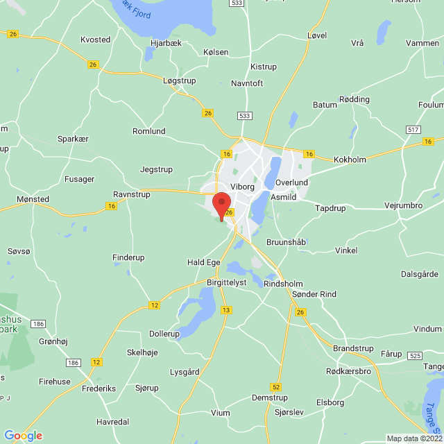 Team Viborg map