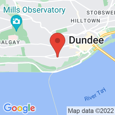 Map showing FIKA Dundee