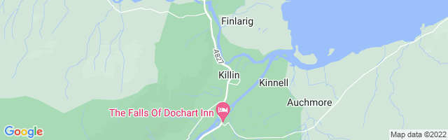Map Of Killin
