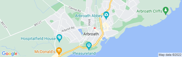 Map Of Arbroath