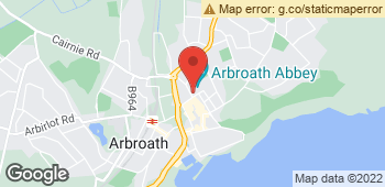 Map of Grace Patterson at 257 High Street, Arbroath, Angus DD11 1EE