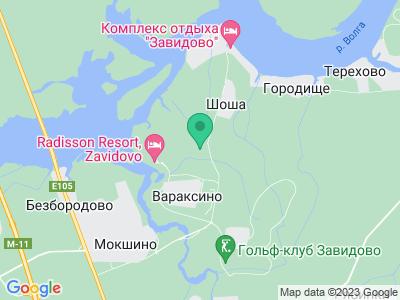 Карта Кемпинг Завидово