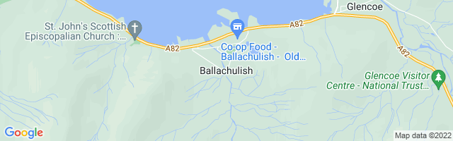 Map Of Ballachulish