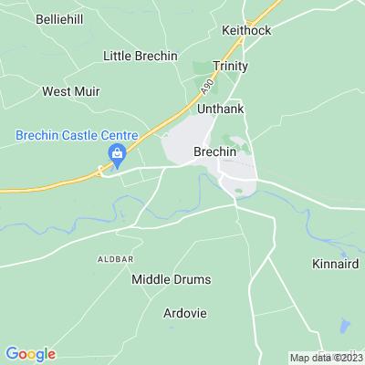 Brechin Castle Location