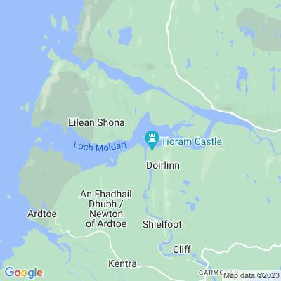Kinlochmoidart Location