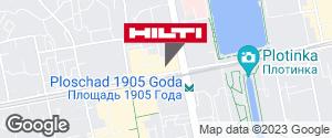 Региональный представитель Hilti в г. Екатеринбург