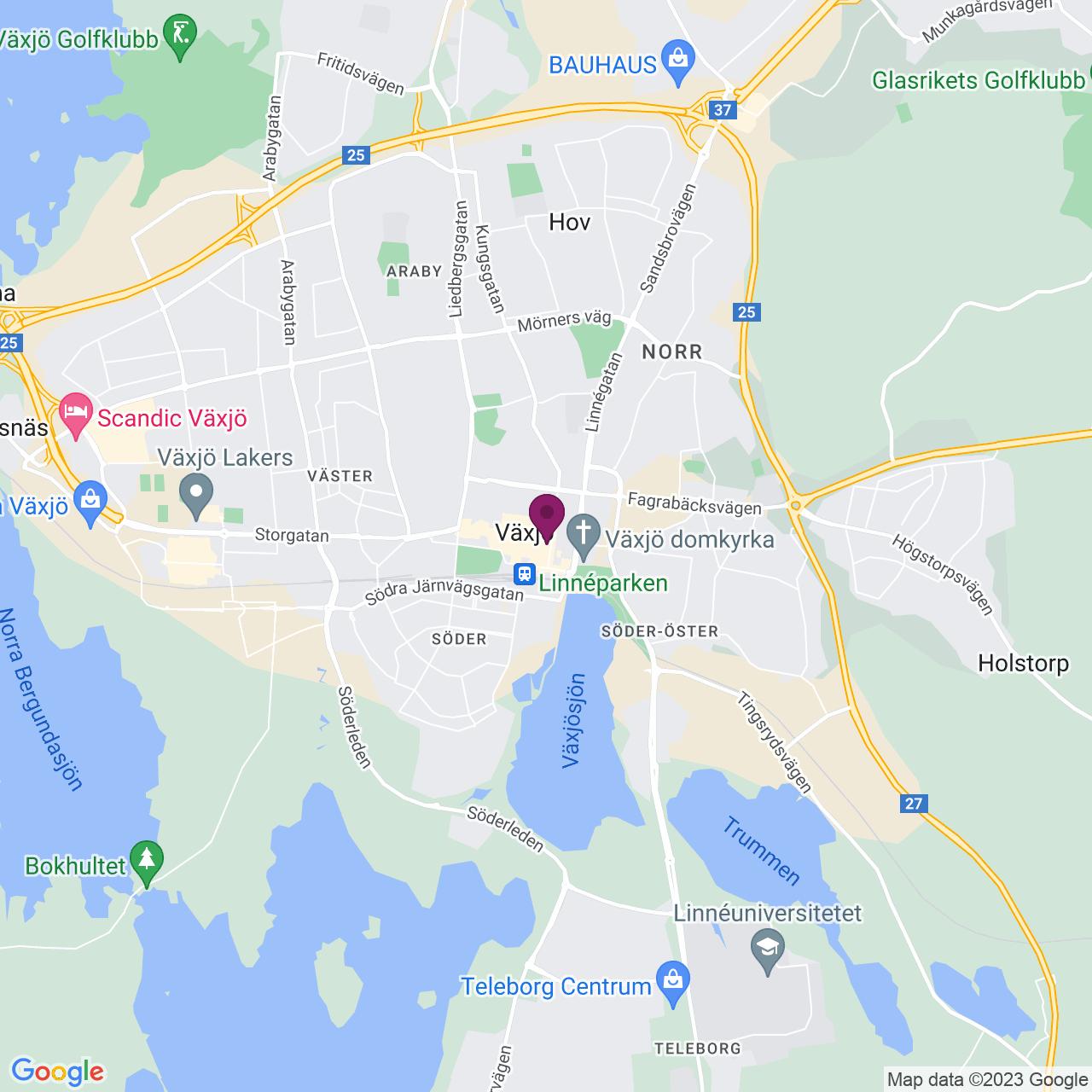 Karta över Kungsgatan 5