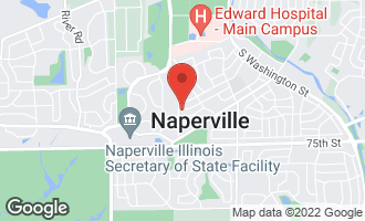 Map of 560 Spruce Drive NAPERVILLE, IL 60540