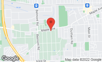 Map of 5604 Sherman Avenue DOWNERS GROVE, IL 60516