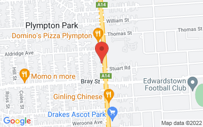 Map of Once & Again Book Cafe Plympton Park (subject to availability)