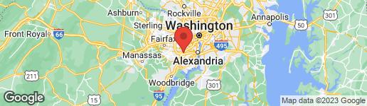 Map of 5611 HARRINGTON FALLS LANE L ALEXANDRIA, VA 22312