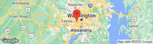 Map of 5612 5TH STREET N ARLINGTON, VA 22205