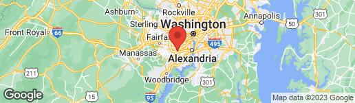 Map of 5618 BLOOMFIELD DRIVE #103 ALEXANDRIA, VA 22312