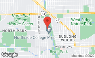 Map of 5619 North Jersey Avenue CHICAGO, IL 60659