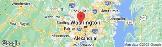 Map of 5620 WOOD WAY BETHESDA, MD 20816