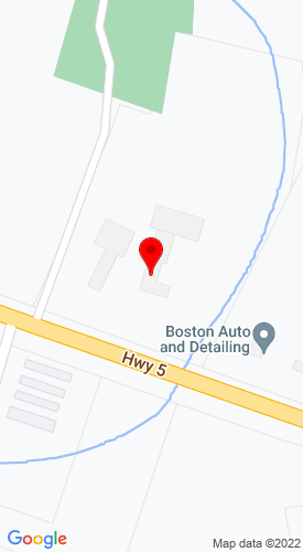 Google Map of Tantivy Trailer Sales 5621 State Route 5, Vernon, NY, 13476