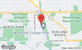 Map of 5628 North Jersey Avenue 1W CHICAGO, IL 60659