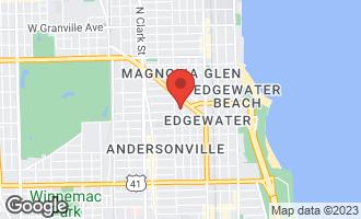 Map of 5638 North Wayne Avenue #3 CHICAGO, IL 60660