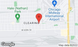 Map of 5643 West 63rd Street CHICAGO, IL 60638
