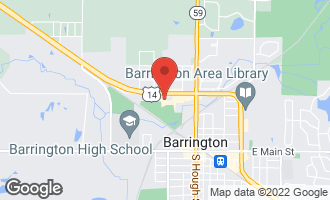 Map of 565 North Carl Avenue #101 BARRINGTON, IL 60010