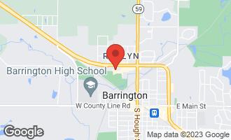 Map of 565 North Carl Avenue #104 BARRINGTON, IL 60010
