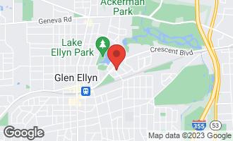 Map of 565 Taylor Avenue GLEN ELLYN, IL 60137
