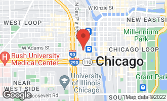Map of 565 West Quincy Street #609 CHICAGO, IL 60661