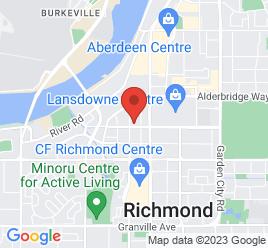 Google Map of 5660+Minoru+Blvd%2CRichmond%2CBritish+Columbia+V6X+2A9